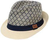 HUGO BOSS Faux Straw Panama Hat