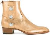 Saint Laurent Signature Wyatt 40 ankle boots - men - Calf Leather/Leather - 40