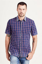 True Religion Plaid Woven Mens Shirt