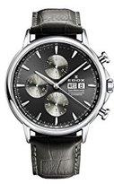 Edox Men's 01120 3 GIN Les Bemonts Analog Display Swiss Automatic Grey Watch