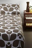 Orla Kiely Full/Queen Wallflower Duvet - Mushroom