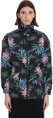 Kenzo Casual Jacket In Black Polyester