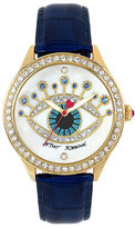 Betsey Johnson Jeweled Eye Watch