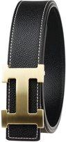 Moraner Golden fame New Designer H Buckle Belt