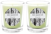 Qualitas Candles Sugarcane Beeswax Candles (Set of 2) (6.5 OZ)