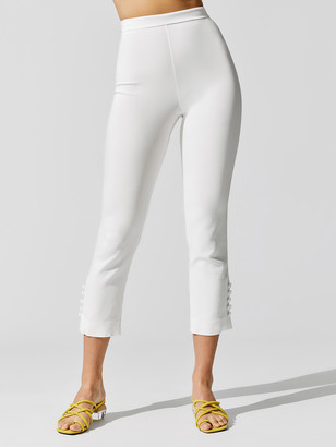 Cushnie High Waisted Cropped Pant