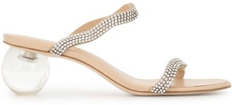 Cult Gaia Aubrey slide sandals