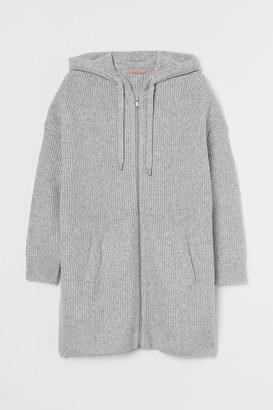 H&M H&M+ Zip-through cardigan