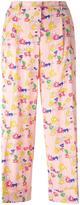 P.A.R.O.S.H. Sabrina floral trousers