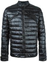 Just Cavalli quilted zip up jacket