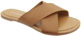 Pierre Dumas Tan Flower Sandal