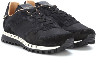 Valentino Studded camouflage sneakers