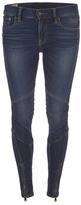 Polo Ralph Lauren Women's Moto Denim Jeans Prospector Wash