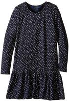 Polo Ralph Lauren Modal Jersey Floral Dress (Little Kids)