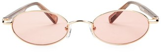 Le Specs Luxe Sorcerer 50MM Oval Sunglasses