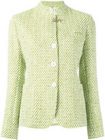 Fay tweed jacket - women - Cotton/Polyamide/Polyester/Cupro - 42