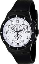 Swatch Men's Originals SUSB401 Rubber Swiss Quartz Watch