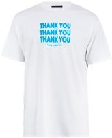 Raf Simons Thank You-print Cotton-jersey T-shirt