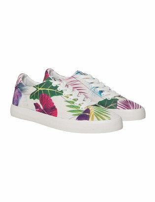 Desigual Shoes (canvas ) Womens Low-Top Sneakers