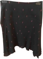 IRO Black Cotton Skirts