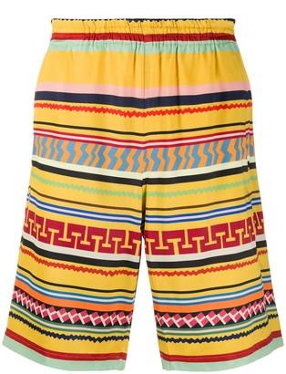 Needles Colour-Block Swim Shorts