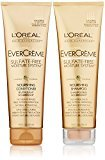 L'Oreal EverCreme Sulfate-Free Moisture System Nourishing, DUO set Shampoo + Conditioner, 8.5 Ounce, 1 each