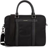 Dolce & Gabbana Black Leather-trimmed Nylon Briefcase