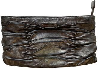 Michael Kors Metallic Leather Clutch bags