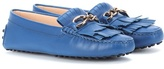 Tod's Heaven Frangia Leather Loafers