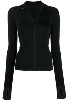 Karl Lagerfeld Paris Zip-Up Jacket