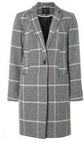 Dorothy Perkins Multi Checked Button Coat