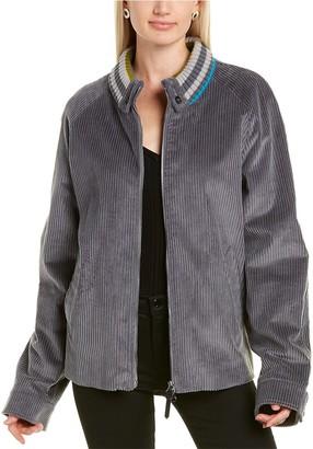 Missoni Giaccone Wool-Blend Jacket