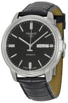 Tissot Automatic III Black Dial Men's Watch, 39.7mm