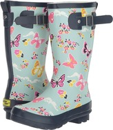 Western Chief Classic Tall Butterfly Floral Rain Boot (Little Kid/Big Kid)