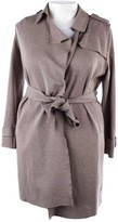 Harris Wharf London Grey Trench Coat for Women