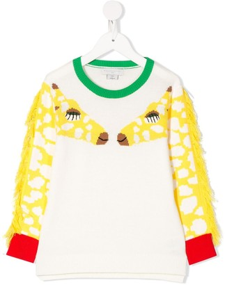 Stella McCartney Giraffe Print Jumper