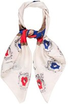 Emilio Pucci Abstract Printed Woven Scarf