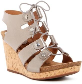 Sofft Carita Gladiator Wedge Platform Sandal