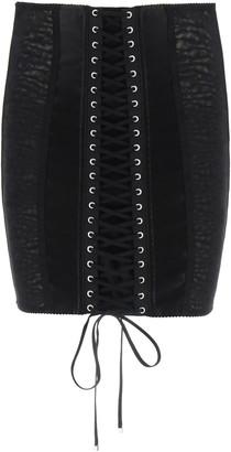 Dolce & Gabbana Lingerie Mini Skirt