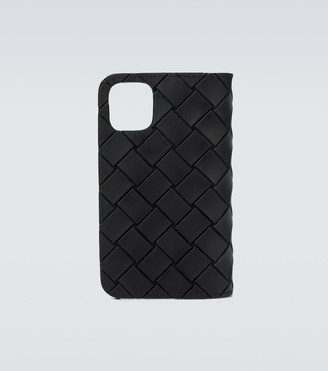 Bottega Veneta Intrecciato iPhone 11 Pro holder