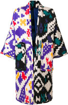 Sofie D'hoore Ikat pattern coat