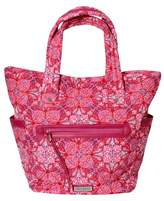 Waverly Women's Pink Paisley Tote Handbag