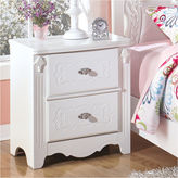 Signature Design by Ashley Exquisite 2-Drawer Nightstand