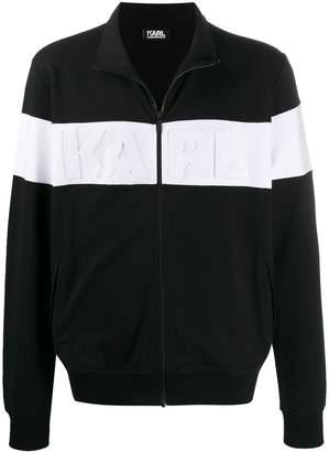 Karl Lagerfeld Paris two tone sweat jacket