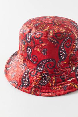 Urban Outfitters Velvet Bucket Hat