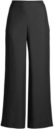 Lafayette 148 New York Riverside Silk Ankle Pants