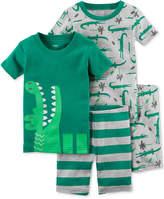 Carter's 4-Pc. Cotton Pajamas Set, Baby Boys