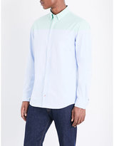 Tommy Hilfiger Two-tone New York-fit Cotton Shirt