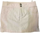Marc Jacobs White Velvet Skirts