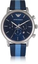 Emporio Armani Stainless Steel Men's Chronograph Watch